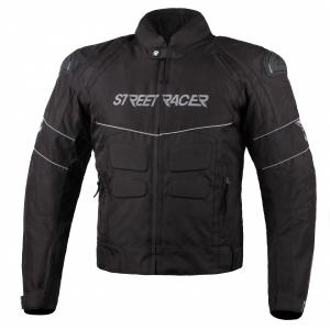Bunda na motorku Street Racer Spark černá
