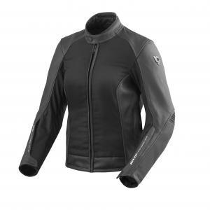 Dámská bunda na motorku Revit Ignition 3 černá výprodej