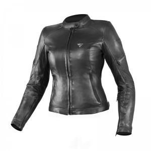 Dámská bunda na motorku Shima Monaco černá
