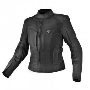 Dámská bunda na motorku Shima Volante černá výprodej