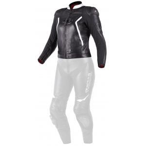 Dámská bunda Tschul 536 černo-bílá