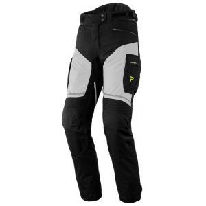 Dámské kalhoty na motorku Rebelhorn Hardy II šedo-černo-fluo žluté