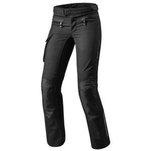 Dámské kalhoty na motorku Revit Enterprise 2 černé zkrácené výprodej