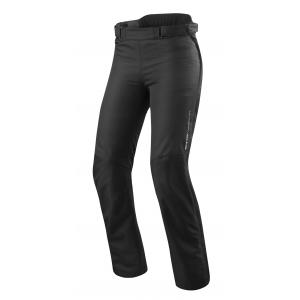 Dámské kalhoty na motorku Revit Varenne černé prodloužené výprodej