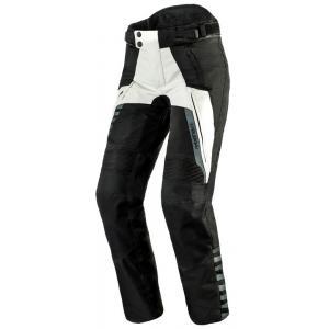 Dámské moto kalhoty Rebelhorn Hiker II černo-šedé výprodej