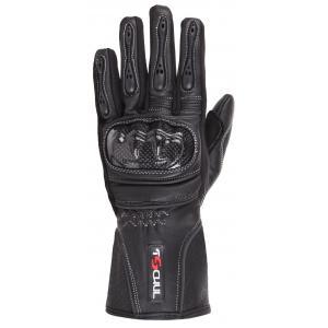 Dámské rukavice na motorku Tschul 211 černé