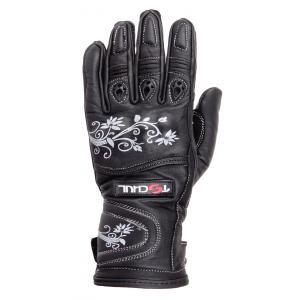 Dámské rukavice na motorku Tschul 301 černé