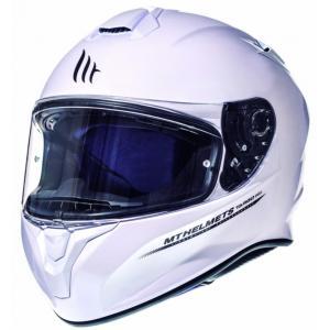 Integrální přilba na motorku MT Targo bílá