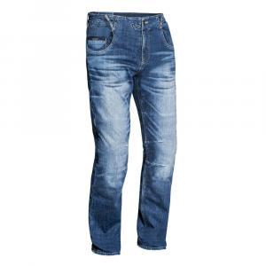 Jeansy na motorku IXON Buckler modré výprodej