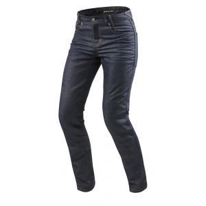 Jeansy na motorku Revit Lombard 2 RF tmavě modré výprodej