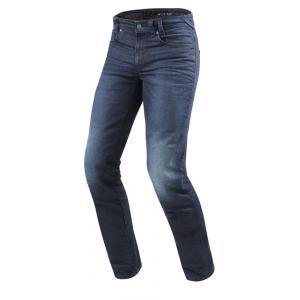 Jeansy na motorku Revit Vendome 2 RF modré výprodej