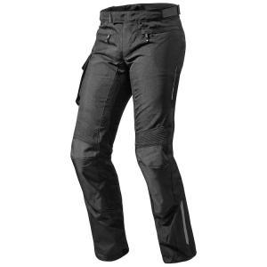 Kalhoty na motorku Revit Enterprise 2 černé prodloužené výprodej