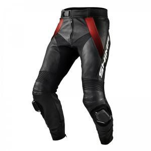 Kalhoty na motorku Shima STR černo-červené výprodej