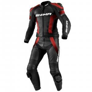 Kombinéza na motorku Shima STR černo-červená výprodej