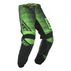 Motokrosové kalhoty FLY Racing Kinetic NOIZ 2019 - USA černo-fluo zelené výprodej