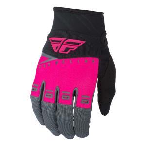 Motokrosové rukavice FLY Racing F-16 2019 - USA růžovo-černo-šedé výprodej