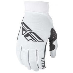 Motokrosové rukavice FLY Racing PRO LITE 2019 - USA bílo-černé výprodej