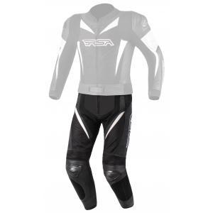 Pánské kalhoty na motorku RSA GPX černo-bílé