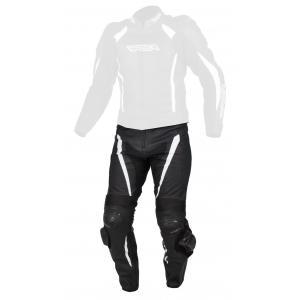 Pánské kalhoty na motorku RSA Imola černo-bílé výprodej