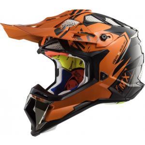 Přilba LS2 MX470 Subverter Emperor černo-oranžová výprodej