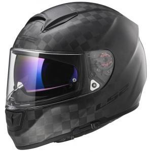 Přilba na motorku LS2 FF397 Vector Solid Carbon černá matná výprodej