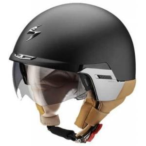 Přilba na motorku Scorpion EXO-100 Padova II černá matná