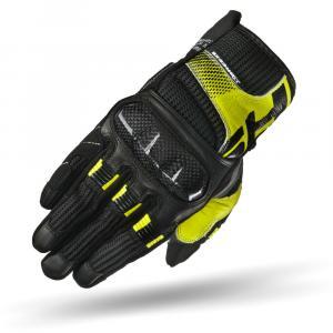 Rukavice na motorku Shima X-Breeze černo-šedo-fluo žluté