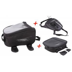 SET: RSA tankvak + kapsička na stehno + brašna na sedlo