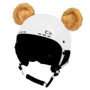 Uši na helmu Medvídek