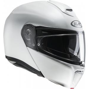 Vyklápěcí přilba na motorku HJC RPHA 90 bílá matná výprodej
