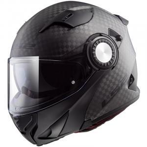 Vyklápěcí přilba na motorku LS2 FF313 Vortex Solid Carbon