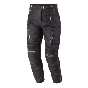 Zkrácené dámské kalhoty na motorku RSA Racer 2 černé - II. jakost