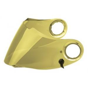 Zrcadlově zlaté plexi Scorpion EXO-490/500/1000 Maxvision