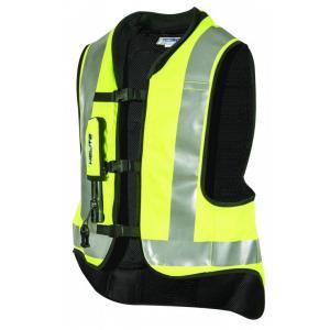Airbagová vesta HELITE Airnest fluo žlutá