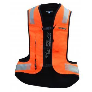 Airbagová vesta HELITE Turtle 2 fluo oranžová