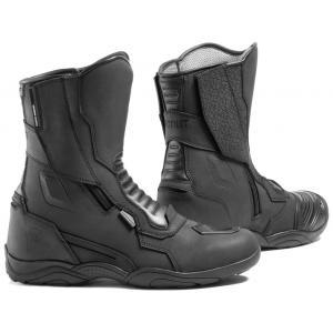 Boty na motorku Rebelhorn Scout černé matné