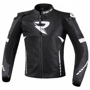Bunda na motorku Street Racer Bexter černo-bílá