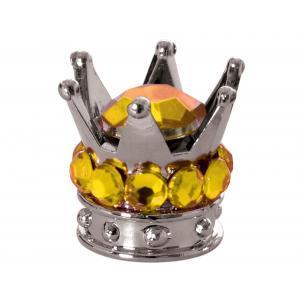 Čepičky na ventilky Oxford Crown stříbrno-zlaté