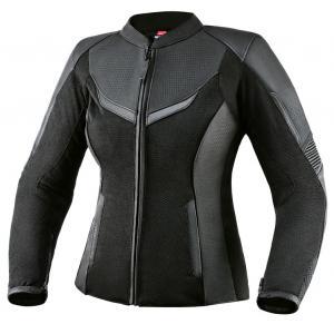 Dámská bunda na motorku Rebelhorn Rocket černá výprodej