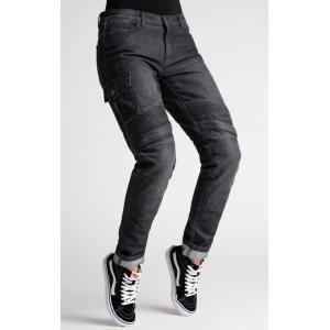 Dámské jeansy na motorku BROGER Ohio černé výprodej