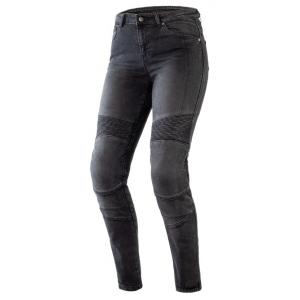 Dámské jeansy na motorku Ozone Agness II černé