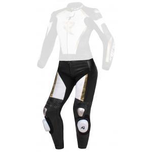 Dámské kalhoty Street Racer Kiara černo-bílo-zlaté - II. jakost