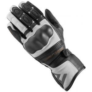 Dámské rukavice na motorku Rebelhorn Patrol Long černo-šedé výprodej