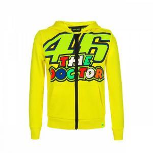 Dětská mikina VR46 Valentino Rossi žlutá