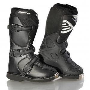 Dětské boty na motorku Shot K10 černé