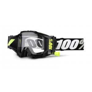 Dětské motokrosové brýle 100% Accuri Forecast černé (čiré plexi)