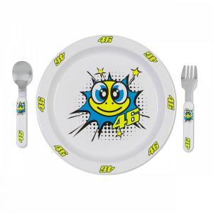Dětský jídelní set VR46 Valentino Rossi želva
