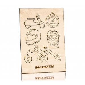 Dřevěné ozdoby MotoZem