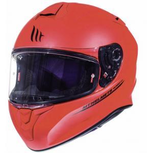 Integrální přilba na motorku MT Targo červená matná výprodej