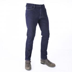 Jeansy na motorku Oxford Original Approved Slim Fit modré výprodej